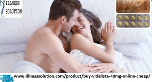 Vidalista 40: World Famous Erectile Dysfunction Medicine – Man Health cares