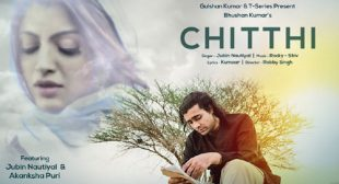 Jubin Nautiyal Song Chitthi – LyricsBELL
