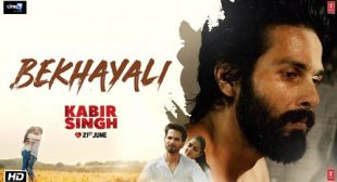 Bekhayali Lyrics – Sachet Tandon