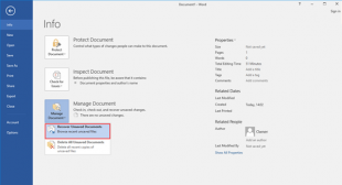 How to Find Autosave Word Files in Windows 10 – mcafee.com/activate