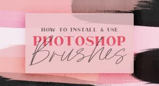 HOW TO DOWNLOAD AND ADD BRUSHES TO YOUR PHOTOSHOP