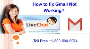 How to fix Gmail Not Working?
