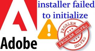 How to fix Failed to Initialize Error in Adobe Creative Cloud
