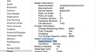 How to Check MacBooks's Battery Health