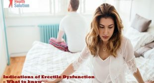 Indications of Erectile Dysfunction – What to know