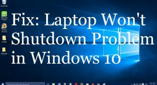 How to Fix Windows Laptop Won't Shut Down Issues