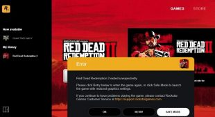 Fixed: Red Dead Redemption 2 PC / RDR2 PC Error