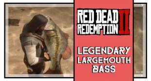 Red Dead Redemption 2: Where to Find and Get Legendary Largemouth Bass