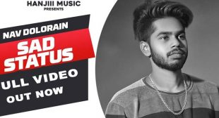Sad Status Lyrics – Nav Dolorian